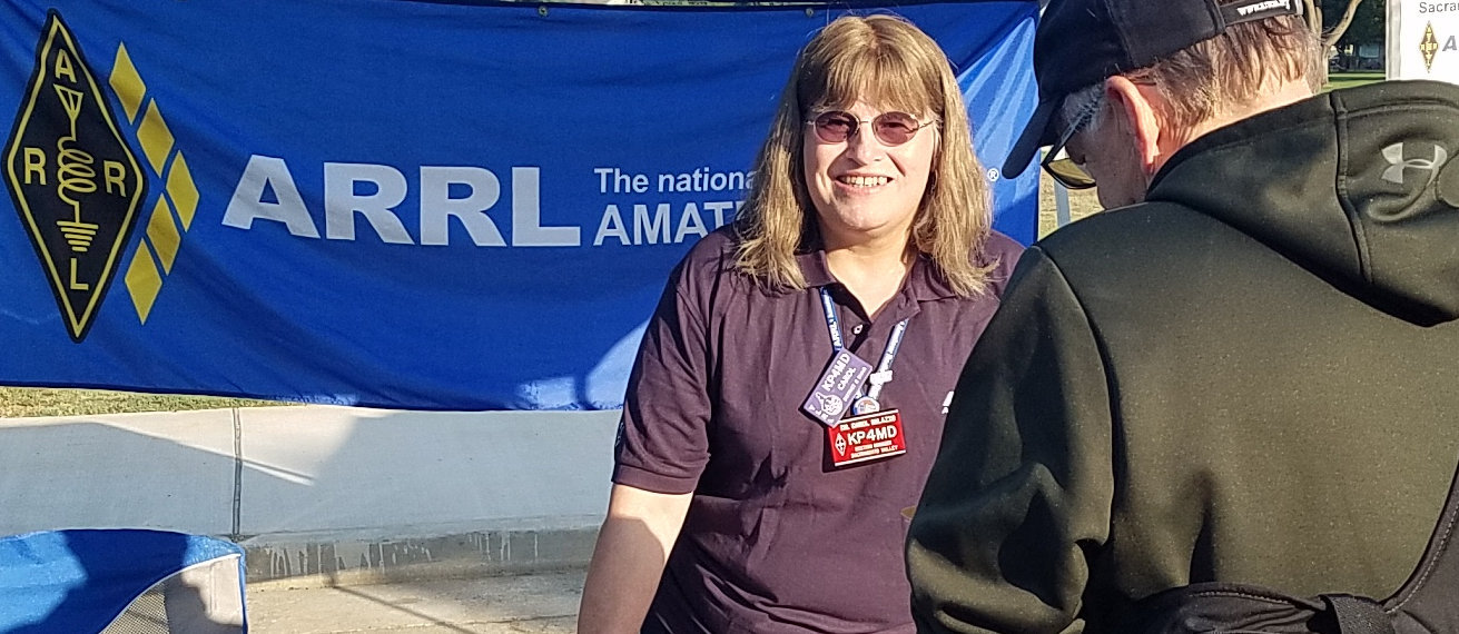 Dr Carol Milazzo, ARRL Sac Valley Section Manager